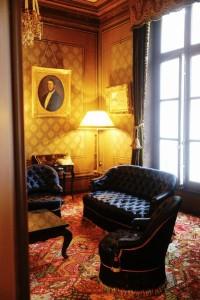 Deutz - een statig huis in Aÿ waar je de indruk krijgt een eeuw in de tijd terug te stappen.
