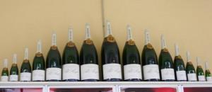 Diverse flesmaten bij Pol Roger