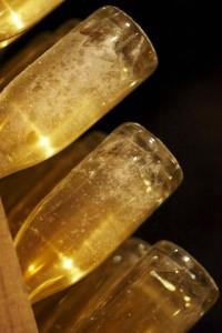 Cristal van Roederer die een tweede gisting op fles krijgt