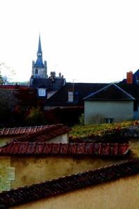 Dorpszicht op Aÿ, de enige grand cru uit de Marnevallei.